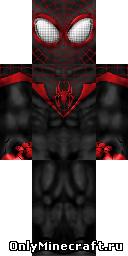 Клип черного человека паука