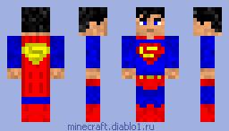 скачать скины для майнкрафта супергероев