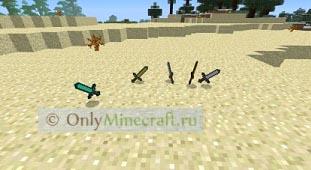 Как сделать каменный меч в майнкрафте