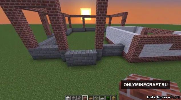 Смотреть игру майнкрафт как построить дом