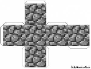 Поделки из бумаги блоки майнкрафт с инструкция