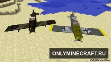 Видео майнкрафт как сделать самолет который летает