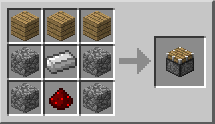 Minecraft Поршень крафт
