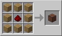 Minecraft Нотный блок крафт