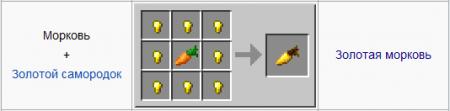 Золотая морковь