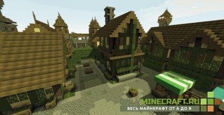 Домики в Майнкрафт