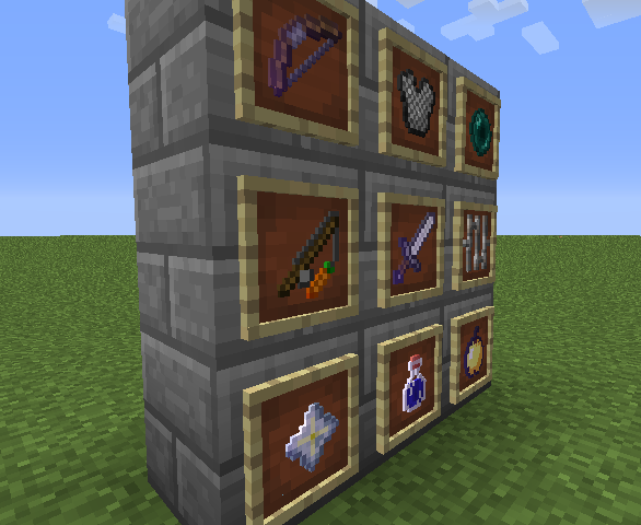 3D Items Mod for Minecraft