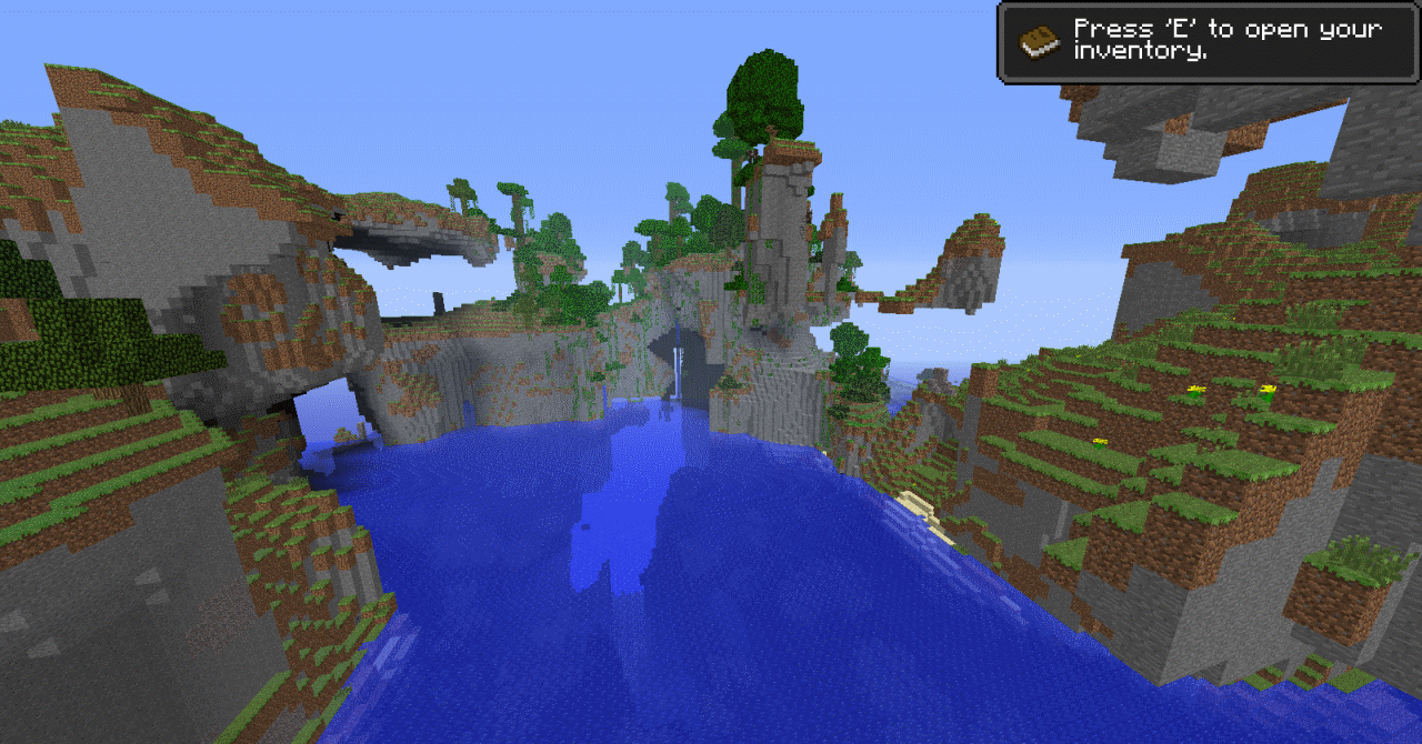 Incredible Minecraft Terrain