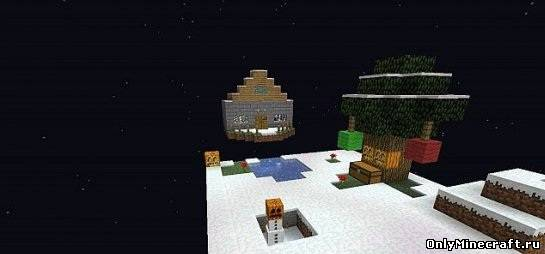Winter in Skyblock