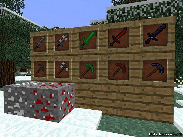 Extra Ores and Tools