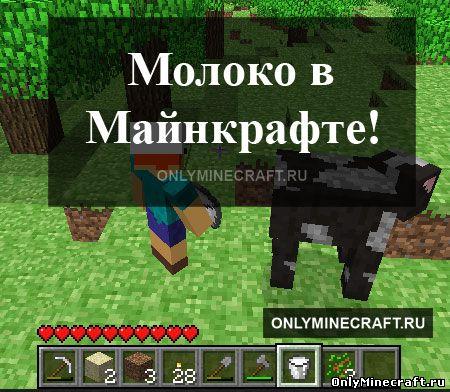 Молоко в Minecraft