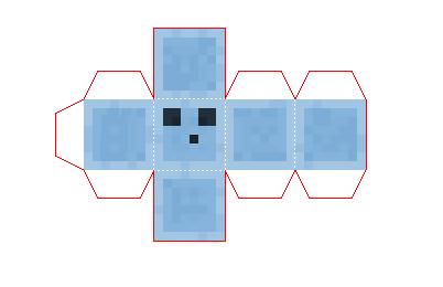 Слайм схема из бумаги