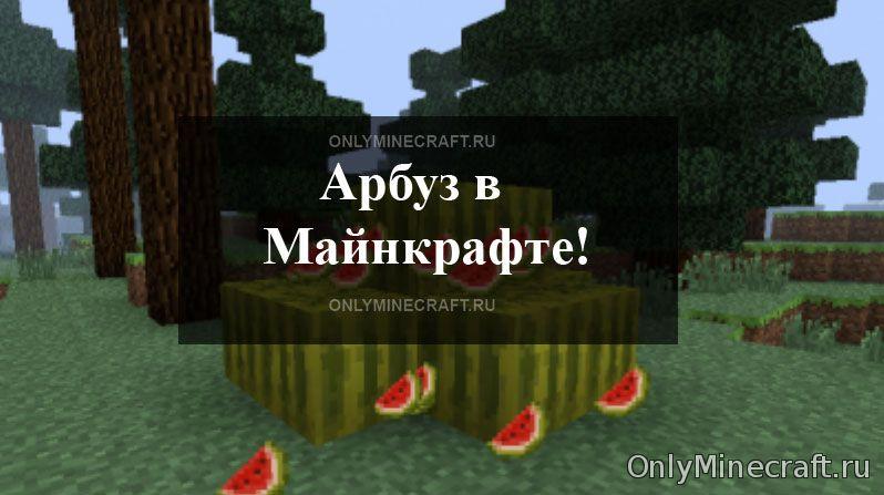 Как вырастить арбуз в Майнкрафт